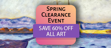 Spring Clearance Sale Event: Save 60% Off All Art!