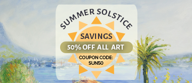 Summer Solstice Special - 50% Off All Art!