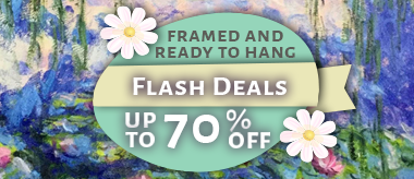 Up to 70% Framed Art Flash Deal!