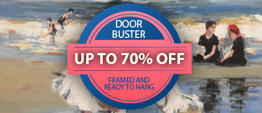 Up to 70% Off Framed Art Flash Deals!
