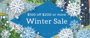 Winter Sale: $100 Gift!