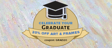 Grad Sale: Save 20% Off Art & Frames!