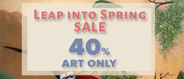 Spring Special: Save 40% Off All Art