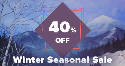 The Big Winter Sale: Save 40% Off All Art.