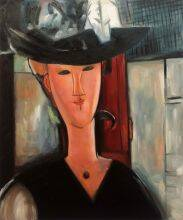 Portrait of Madam Pompadour, 1915