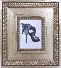 Black Shoe Pre-Framed Miniature