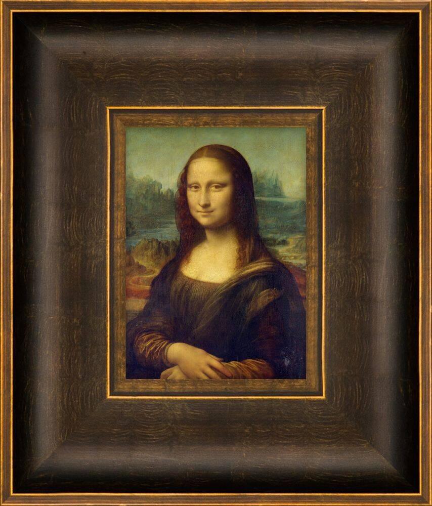 Mona Lisa Pre-Framed Miniature -