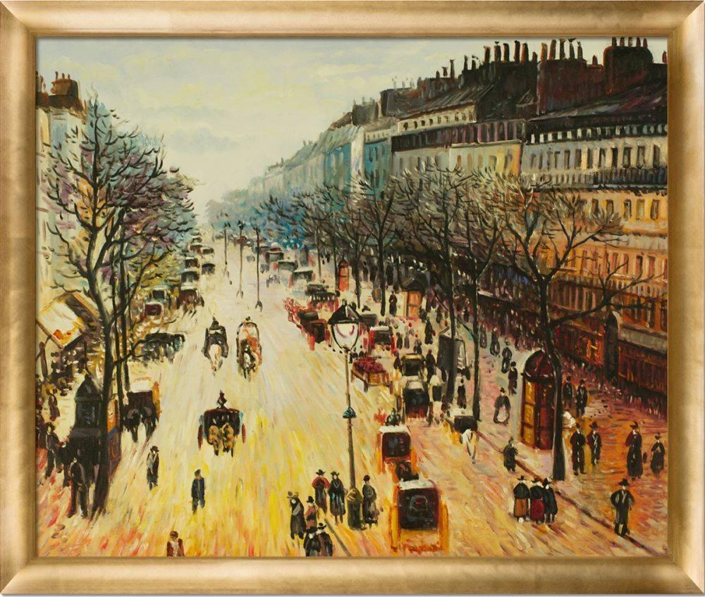 Boulevard Montmartre on a Winter Morning Pre-Framed
