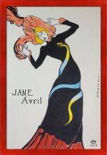 Jane Avril Pre-Framed