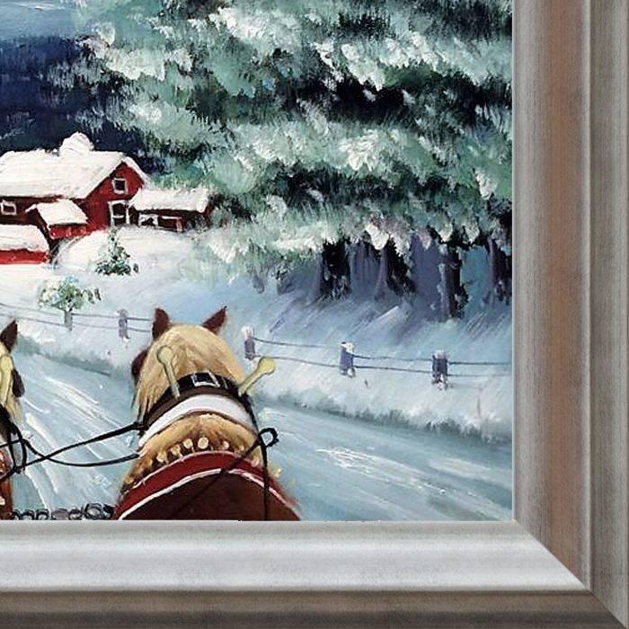 Sleigh Ride Pre-Framed