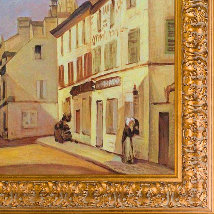 Square in Argenteuil Pre-Framed