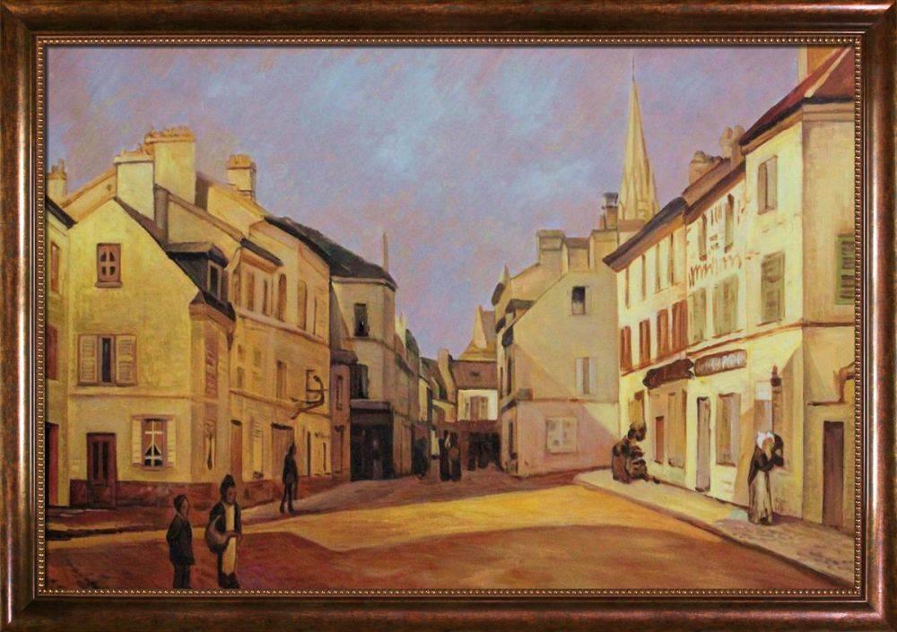 Square in Argenteuil Pre-Framed