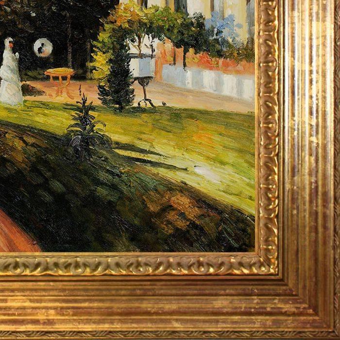 The Garden of Les Mathurins at Pontoise Pre-Framed