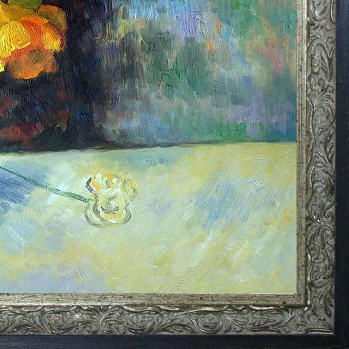 Still Life Flowers in Vase Pre-Framed