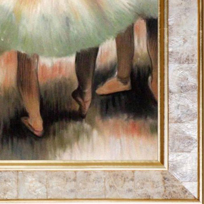 Dancers, Pink and Green Pre-Framed