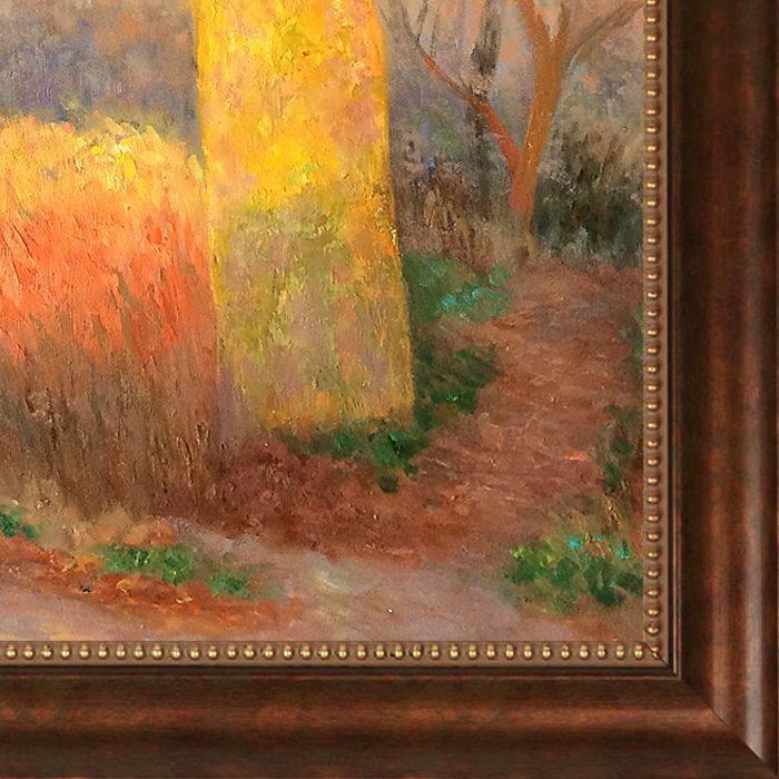 Tree in The Sun, 1900 Pre-Framed