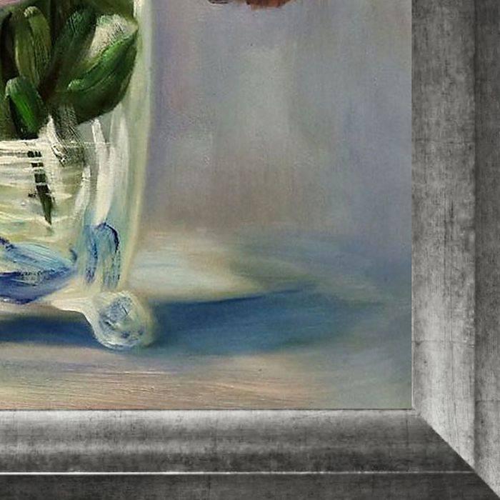 Flowers in a Crystal Vase Pre-Framed
