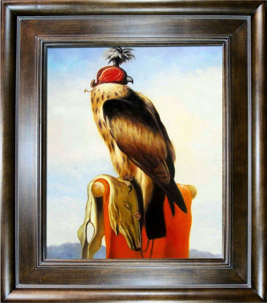 Hooded Falcon Pre-Framed