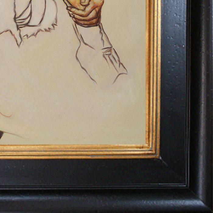 The Artist's Wife Pre-Framed