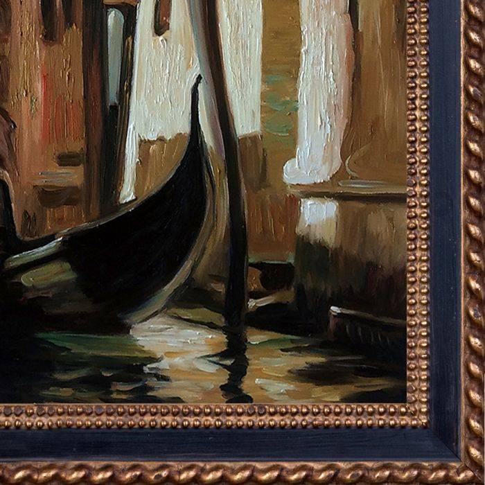 A Venetian Scene Pre-Framed