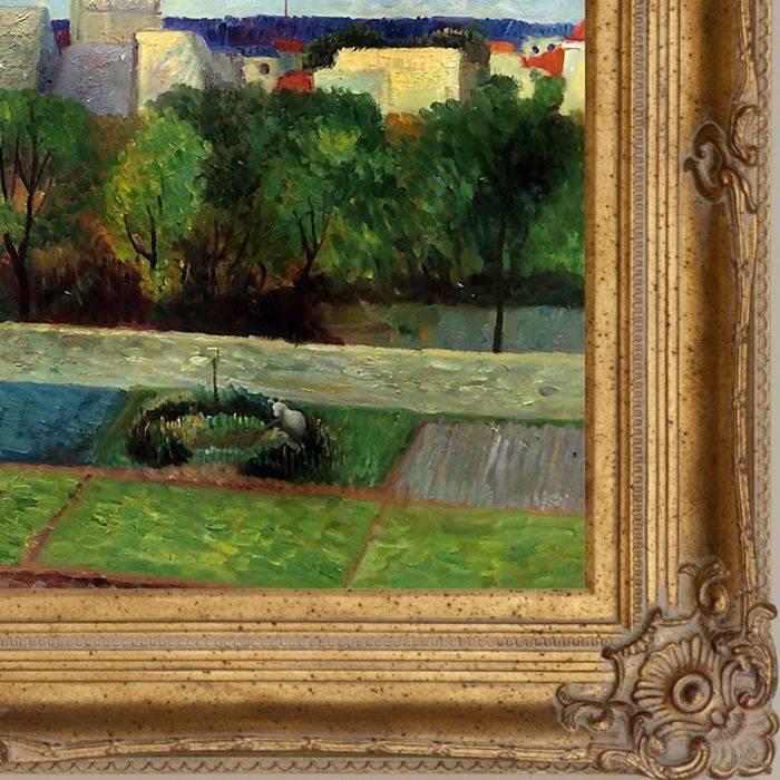 The Market Gardens of Vaugirard, 1879 Pre-Framed