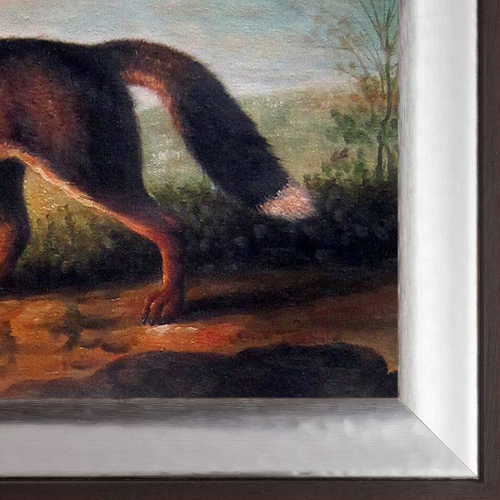 Portrait of a Large Dog Pre-Framed