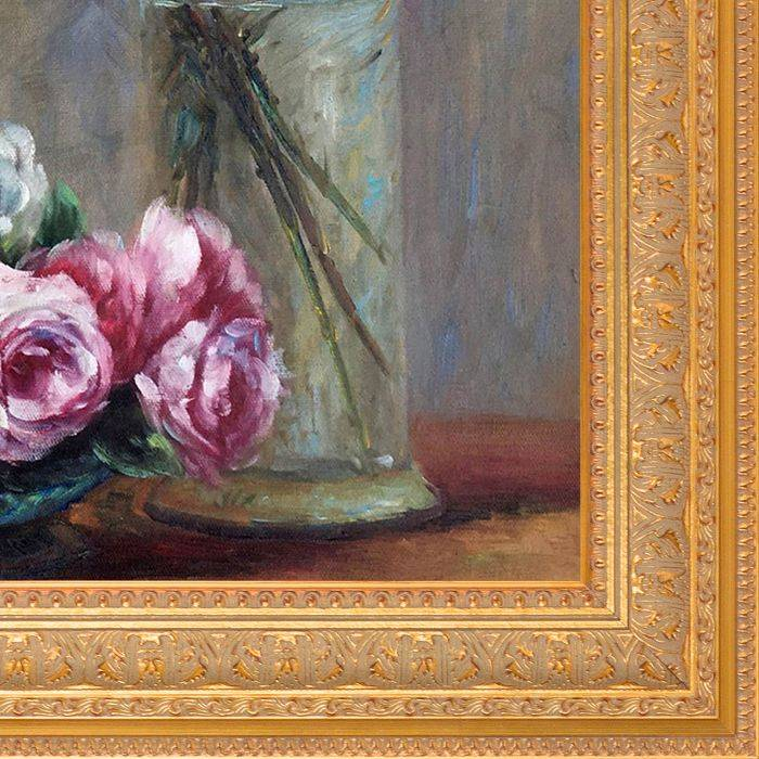 Roses and Lilies Pre-Framed