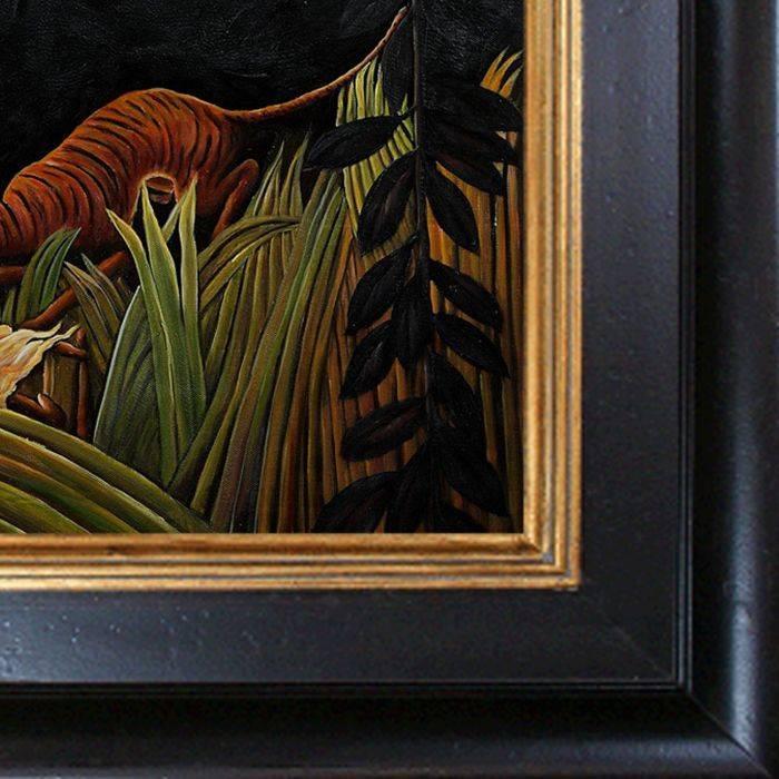 Eclaireurs Attaques par un Tigre Pre-Framed