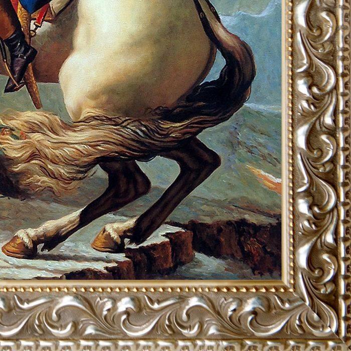 Napoleon Crossing the Alps, 1801 Pre-Framed