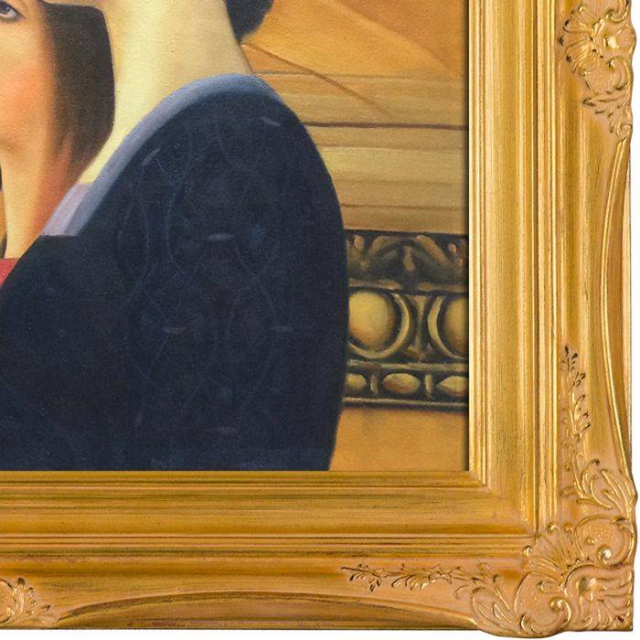 Two Girls with an Oleander (right detail) Pre-Framed