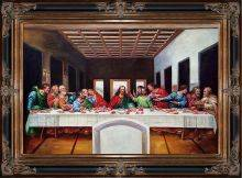 The Last Supper Pre-Framed
