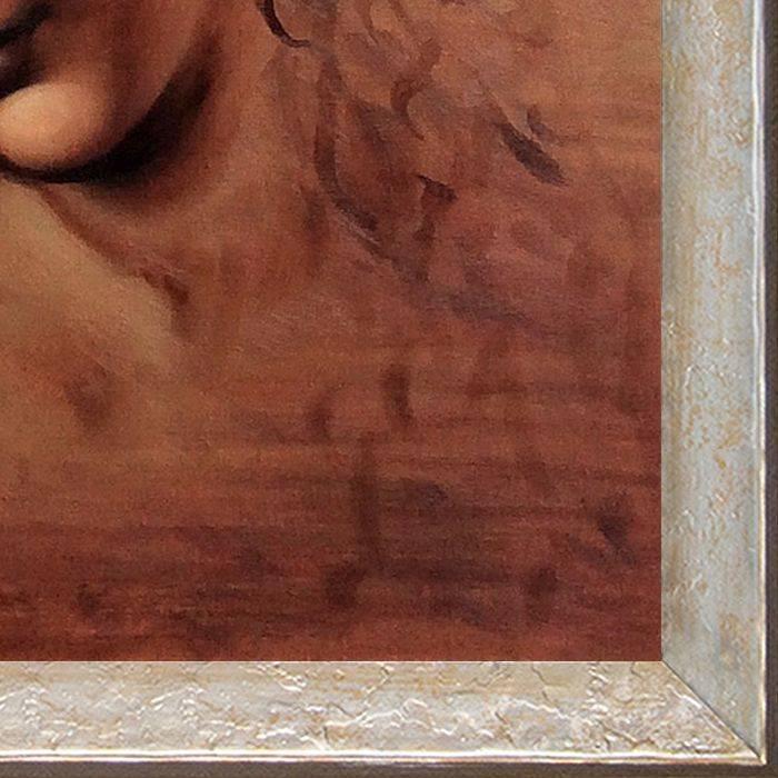 Female Head (La Scapigliata) Pre-Framed