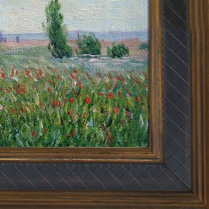 The Fields of Poppies Pre-Framed