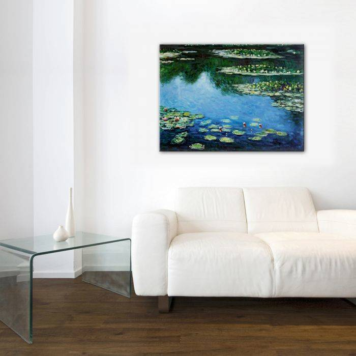 Water Lilies Gallery Wrap