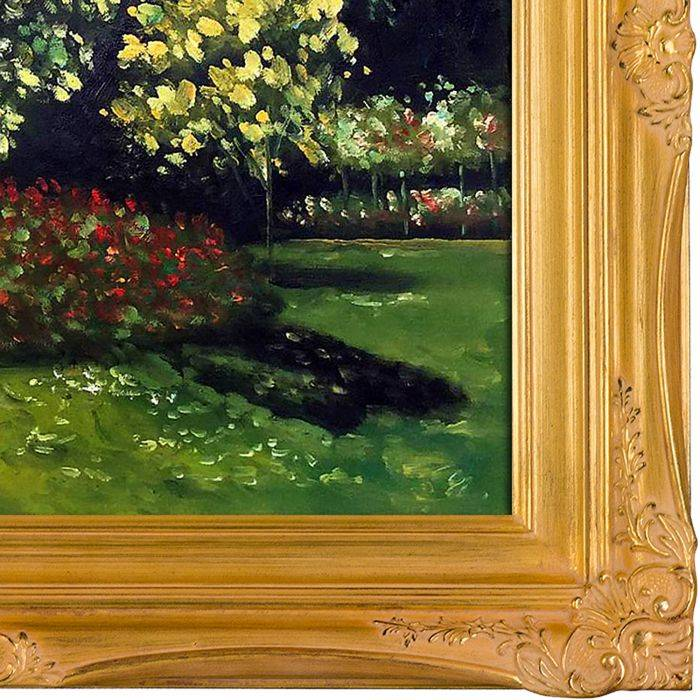 Jeanne-Marguerite Lecadre (Lady in a Garden Pre-Framed)
