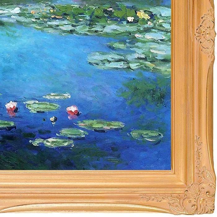 Water Lilies Pre-Framed