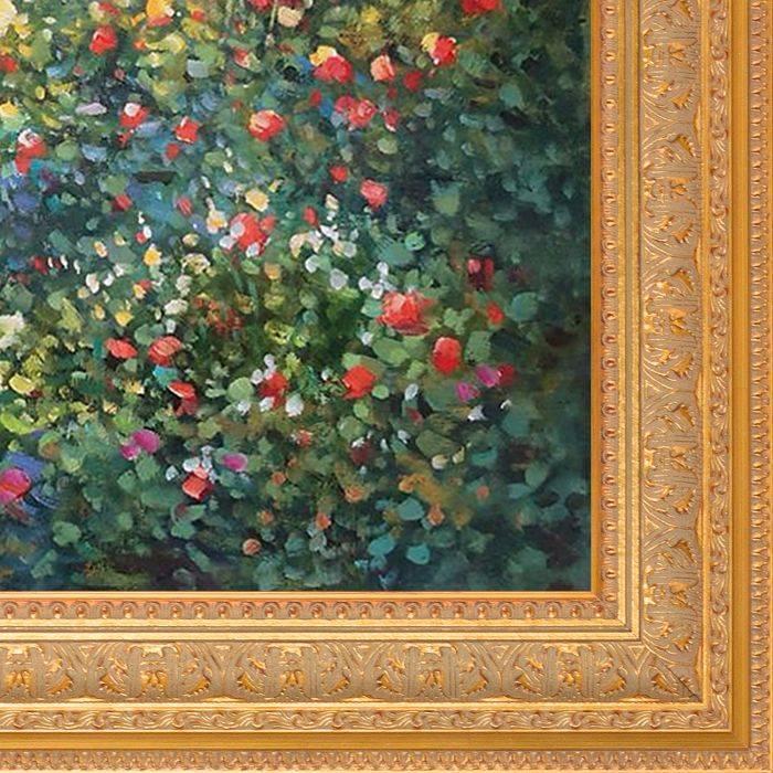 Flowers at Vetheuil Pre-Framed