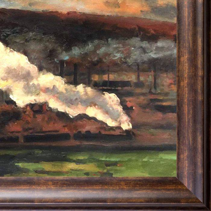 The Train, 1872 Pre-Framed