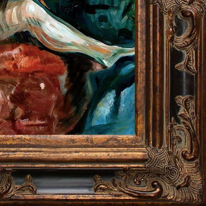 Weeping Nude, 1913-14 Pre-Framed