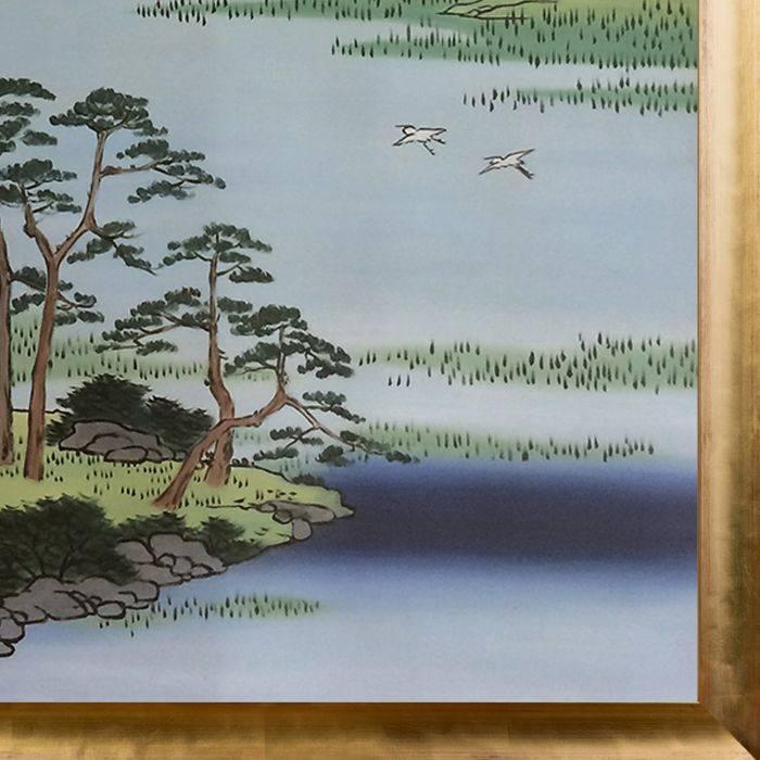 Benten Shrine, Inokashira Pond, No. 87 from One Hundred Famous Views of Edo Pre-Framed