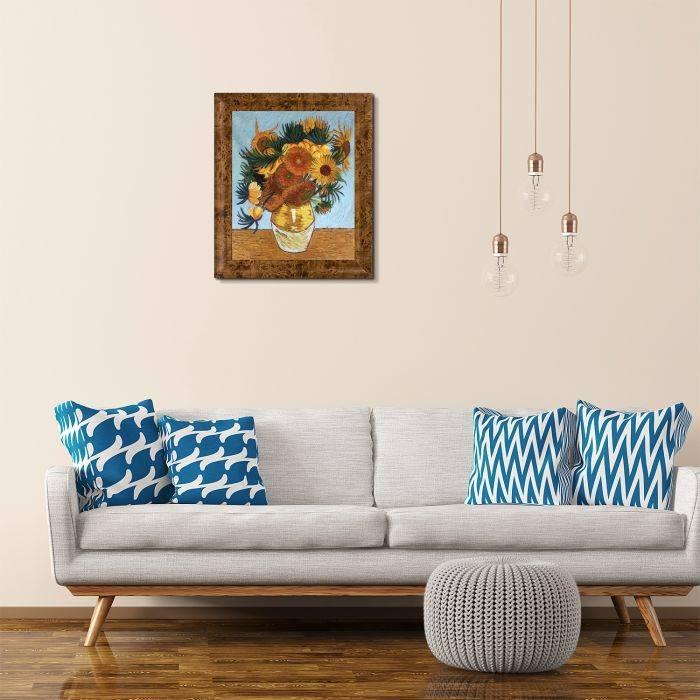Sunflower Collage Pre-Framed