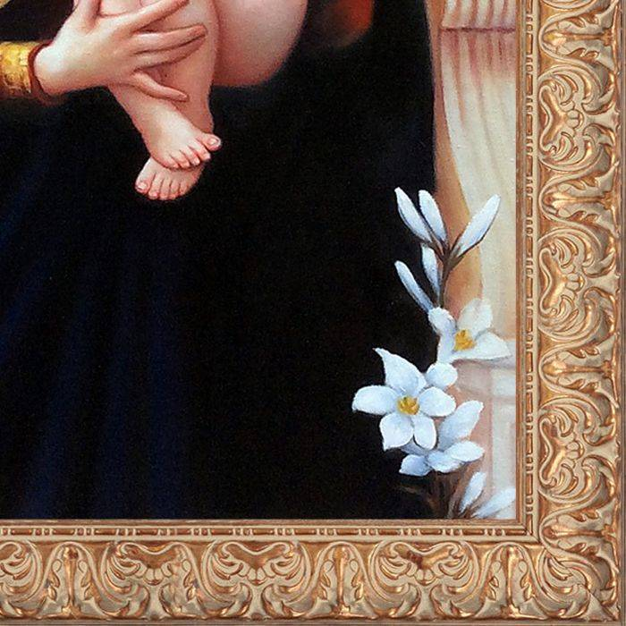 The Madonna of The Lilies, 1899 Pre-Framed