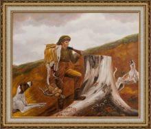 Huntsman and Dogs Pre-Framed