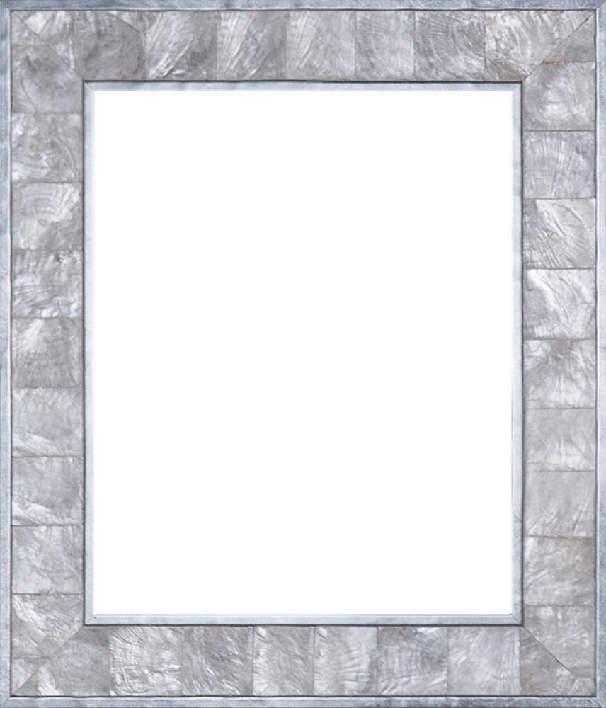 Silver Pearl Frame 8
