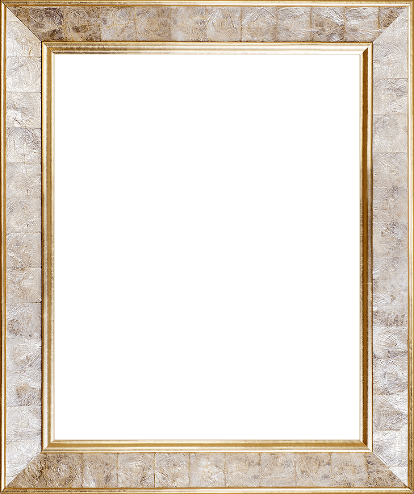 Gold Pearl Frame 16 - Canvas Art & Reproduction Oil Paintings