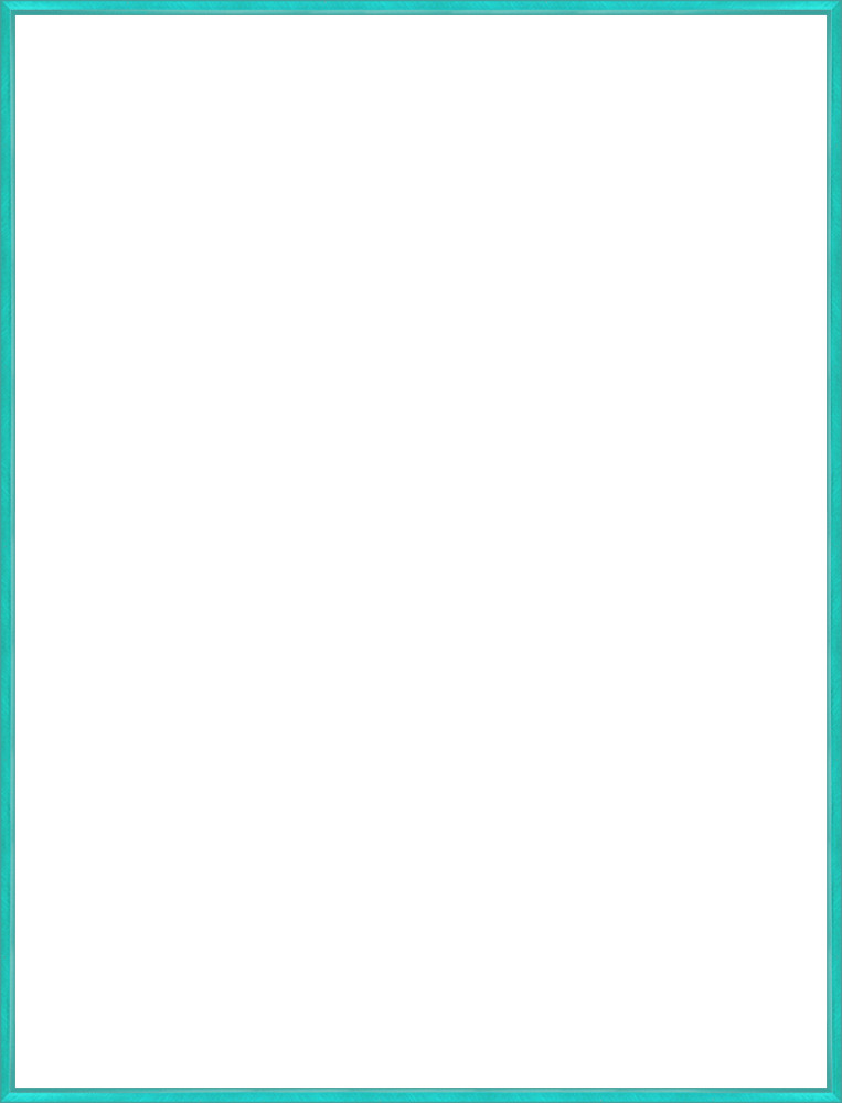 "Studio Turquoise Frame 36""X48"""