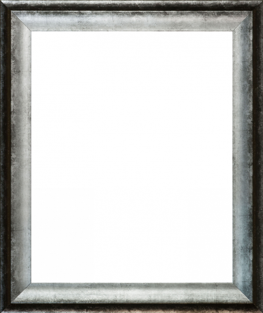 Athenian Distressed Silver Frame 16