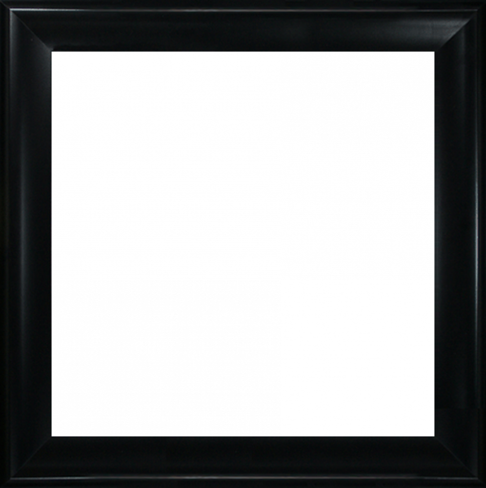Black Satin King Frame 24