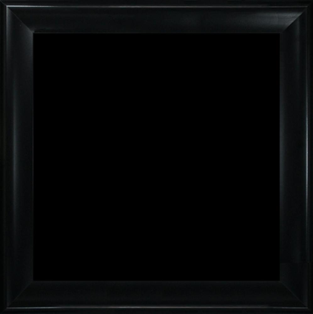 "Black Satin King Frame 24""X24"""