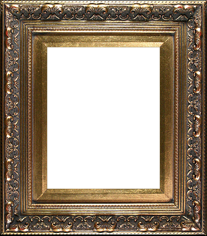 "Baroque Antique Gold Frame 8""X10"""